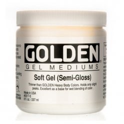 soft gel satin 473 ml