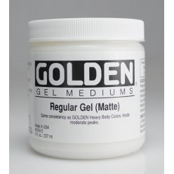regular gel matte 473 ml
