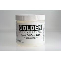 gel de base satine regular gel 473 ml