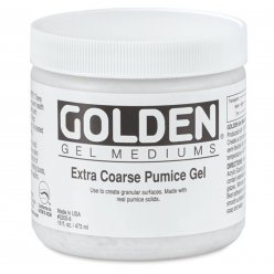 extra coarse pumice gel 473 ml