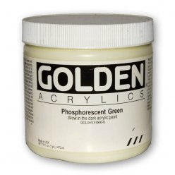 phosphorescent medium green 473 ml