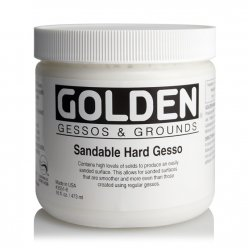 sandable hard gesso 473 ml