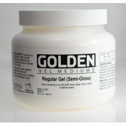 gel de base satine regular gel 946 ml