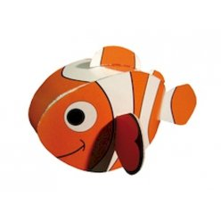 carte a plier poisson clown difficulte 25