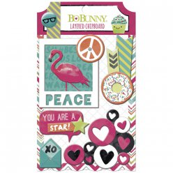 chipboard foreveryoung 5 pieces