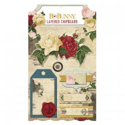 layered chipboard juliet 6 pieces