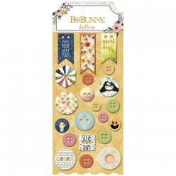 buttons calendar girl 21 pieces