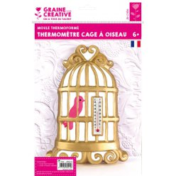 moule thermoforme thermometre cage a oiseaux