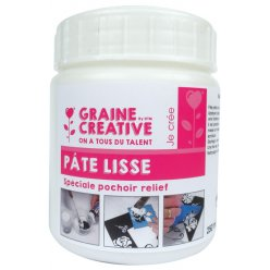pate lisse incolore 250 ml