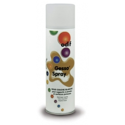 gesso en spray blanc 500 ml