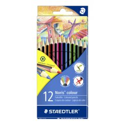 crayon de couleur noris incassable 12 pieces 185 c12