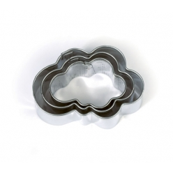 emporte pieces metal nuage 3 pieces