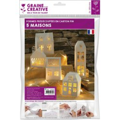 maison blanche a monter 5 pieces