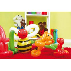 ballons gonflables formes assorties 100 pieces