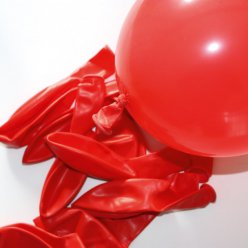 ballons de baudruche gonflables rouge 10 pieces