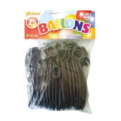 ballons de baudruche gonflables bordeaux 25 pieces
