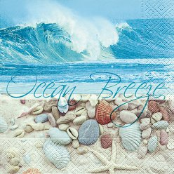 serviette ocean breeze 20 pieces