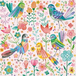 serviette magical birds 20 pieces