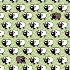 serviette flock of sheeps 20 pieces