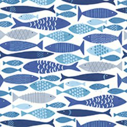serviette shoal of fish 20 pieces