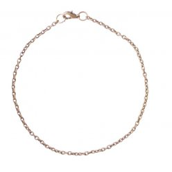 chaine bracelet petite maille bronze o2mm