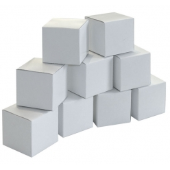 cubes en carton a monter 6cm 20 pieces