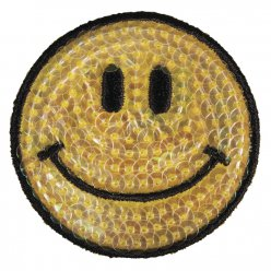 motif thermocollant smile 5 cm o