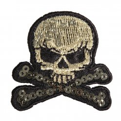 motif thermocollant skull and bones
