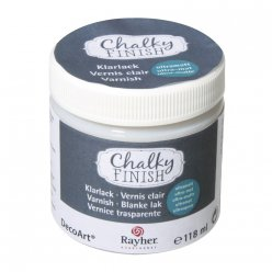chalky finish vernis clair ultra  mat 118 ml
