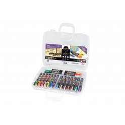 mallette marqueurs posca idees deco 20 pieces