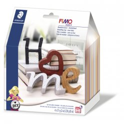 fimo diy homedeco letters