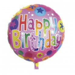 ballon happy birthday 46 cm o