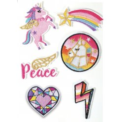 patch thermocollant licorne 6 pieces