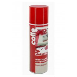 colle definitive pour le scrapbooking spray 250 ml