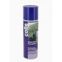 colle thermo fixable pour tissu spray 250 ml