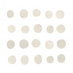 pastilles adhesives ronde 05 cm x 100 pieces