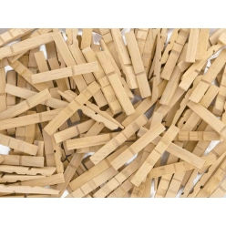 demi pinces a linge en bois construction 7 cm 200 pieces
