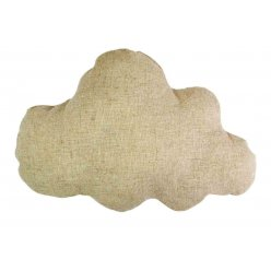 nuage en coton naturel a customiser 22 x 16 cm