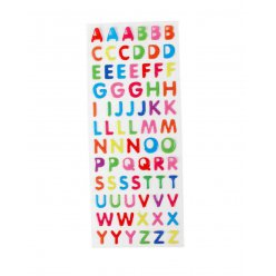 stickers epoxy lettre alphabet 73 pieces
