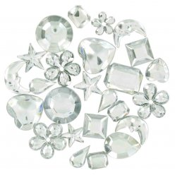 strass multi mix cristal 08 a 2 cm 208 pieces