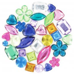 strass multi mix multicolores 06 a 2 cm 300 pieces