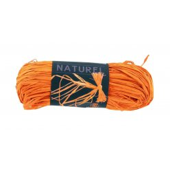 raphia naturel orange 50 g