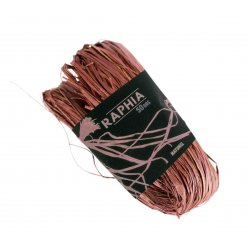 raphia naturel marron 50 g