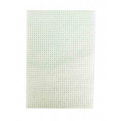 feutrine perforee blanc pour broderie 2 pieces