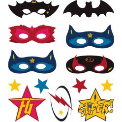 tatouages super heros 26 pieces