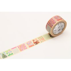 masking tape mt 20 mm noel journal de noel  christmas news