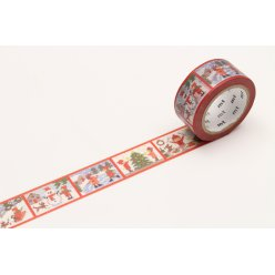 masking tape mt 20 mm noel scenes d hiver  stitch story