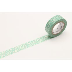 masking tape mt ex oiseaux du jardin  cutout leaf and bird