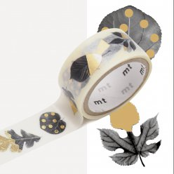 masking tape mt fab metallise feuilles  leaves