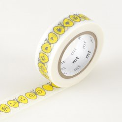 masking tape mt mina papillon choucho yellow